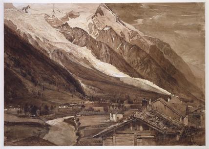 Glacier des Bossons, Chamonix