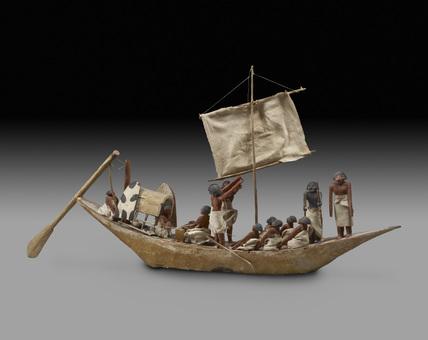Model of boat
