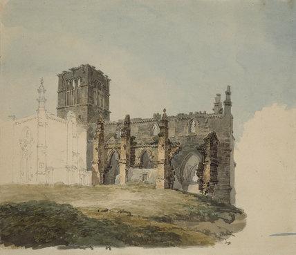 The Ruined Abbey at Haddington