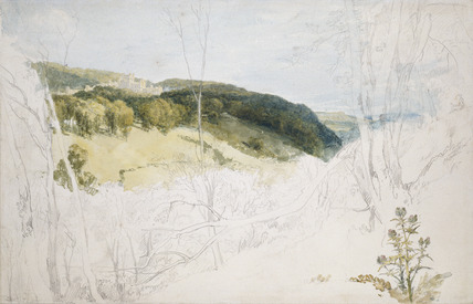 Distant View of Lowther Castle (Park Scene)