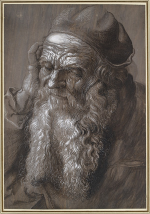 An old Man aged 93 (St Jerome)