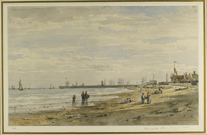 Ramsgate Pier, August 1838