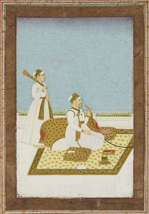 Portrait of 'Hajmadowlah'