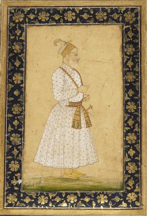 Portrait of Asaf Khan IV