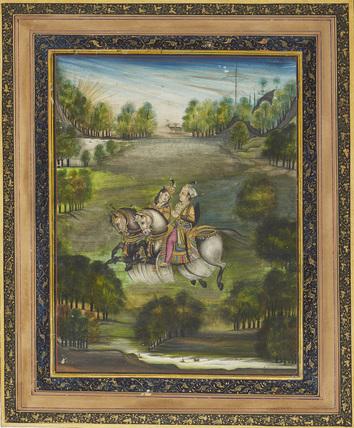 Baz Bahadur and Rumpati