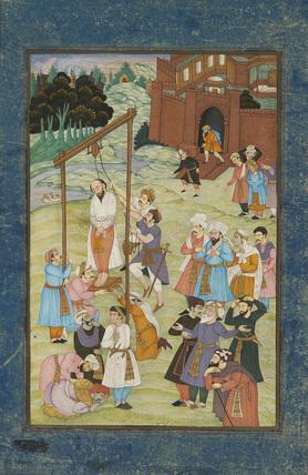 Hanging of Al-Hallaj in 922