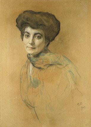 Portrait of Elena Ivanovna Roerich