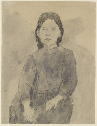Seated Girl (Marie Hamonet?)
