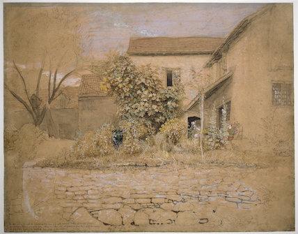 House and Garden at Tintern