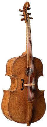 Bass (?) viol, c. 1580