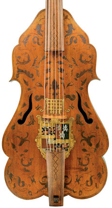 Bass viol (Viola da Gamba), c. 1590