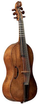 Treble viol, c. 1550-1600