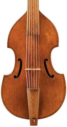 Tenor viol, 1598