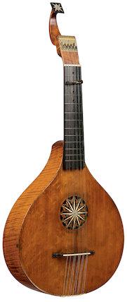 English guitar, 1734-70
