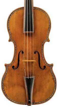 Violin (inlaid), 1683