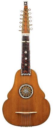 English guitar, 1770