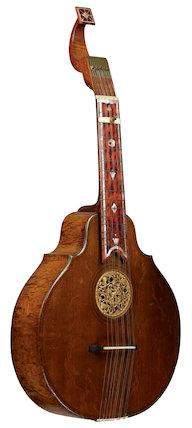 English guitar, 1786