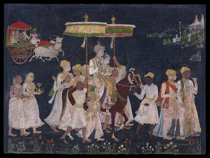 Wedding procession of Muhammad Quli Qutub Shah