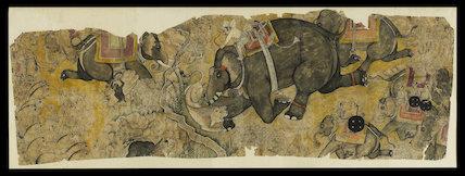 Royal lion hunt