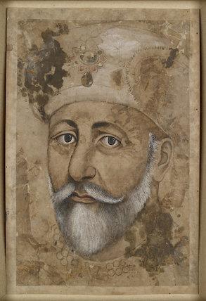 The emperor Bahadur Shah