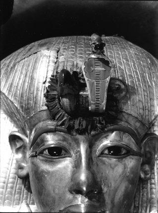 Detail of Tutankhamun's outermost coffin