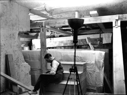 Howard Carter in the Antechamber