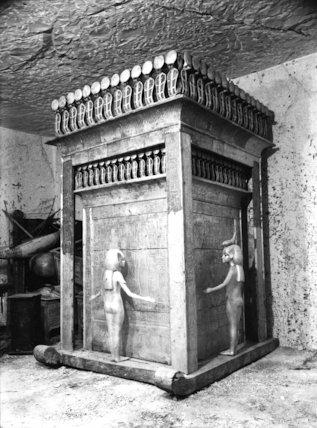 Tutankhamun's canopic chest