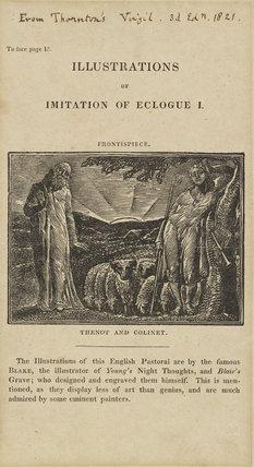Illustrations to Robert Thornton's 'Pastorals of Virgil' (17 plates)
