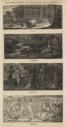 Illustrations to Robert Thornton's 'Pastorals of Virgil' (17 plates)