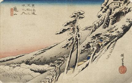 Japanese Print (Hiroshige)