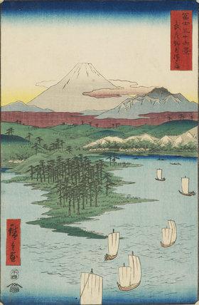 Noge and Yokohama in Musashi Province