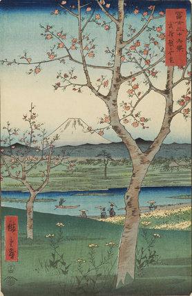 Koshigaya in Musashi Province