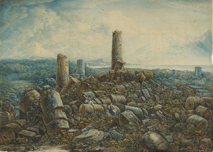 Recto: The Ruins of Selinunte