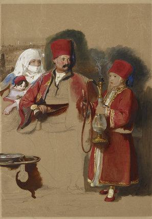 Portrait of Sotiri, Dragoman of Mr Colquhoun