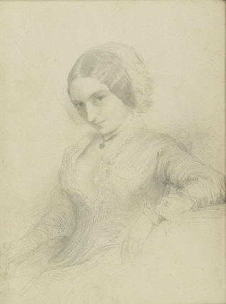Portrait of Lady Holland