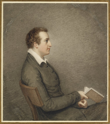 Portrait of John Cam Hobhouse, 1st Baron Broughton,