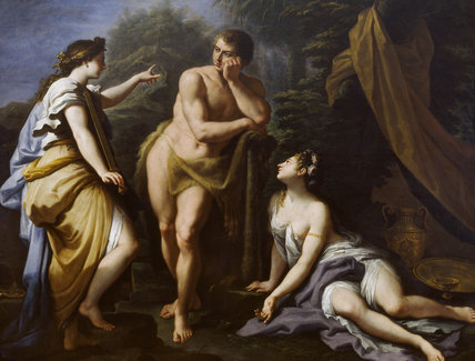 The Choice of Hercules (detail)