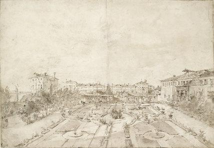 A Garden in Venice (Palazzo Surian Bellotto)