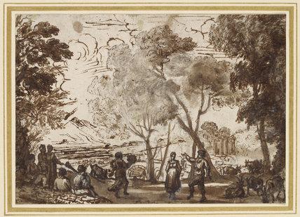 Dancers in a Grove