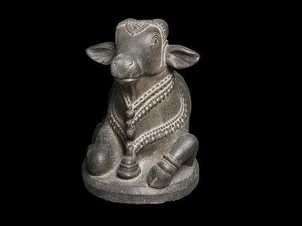 Figure of Nandi, the bull of Shiva