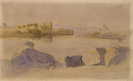 Philae, Egypt, 1854