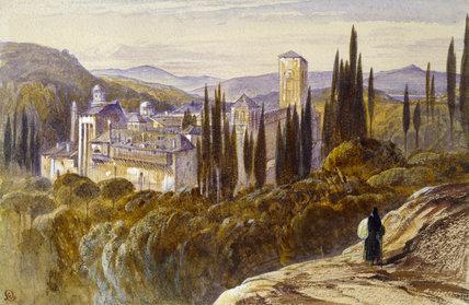 The Monastery of Khilandari, Mount Athos