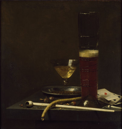 Still Life with a Pipe-lighter, 1653