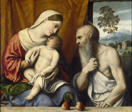 The Virgin and Child with St Jerome, c. 1530 - 1535