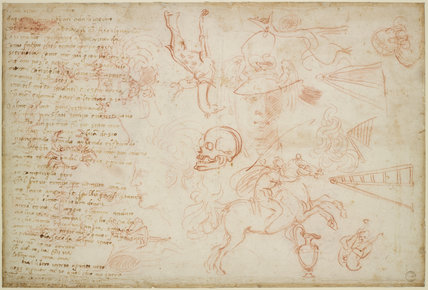 Verso: Miscellaneous Sketches and a Poem