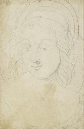 Verso: Head of the Virgin
