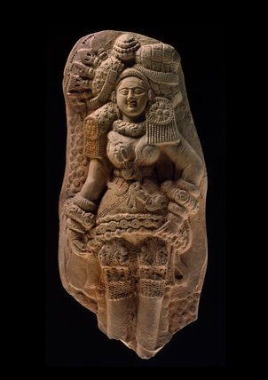 Plaque with yakshi (nature spirit) or mother goddess