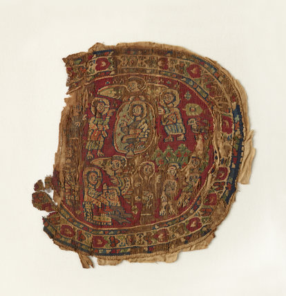 Tapestry with biblical scenes