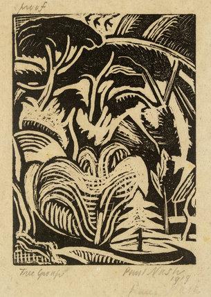 Tree Group (Tree Garden), 1919