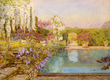The swimming pool, Dyffryn